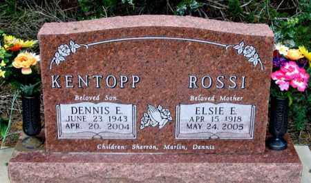 ROSSI, ELSIE E. - Dundy County, Nebraska | ELSIE E. ROSSI - Nebraska Gravestone Photos