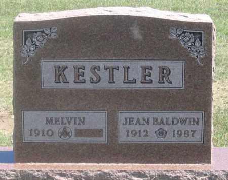 BALDWIN KESTLER, JEAN - Dundy County, Nebraska | JEAN BALDWIN KESTLER - Nebraska Gravestone Photos