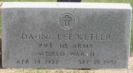 KETLER, DAUNE LEE - Dundy County, Nebraska   DAUNE LEE KETLER - Nebraska Gravestone Photos