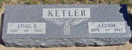 KETLER, JOHN CLYDE - Dundy County, Nebraska | JOHN CLYDE KETLER - Nebraska Gravestone Photos