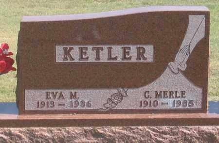KETLER, EVA M. - Dundy County, Nebraska   EVA M. KETLER - Nebraska Gravestone Photos