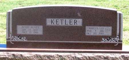 KETLER, JESSIE AGNES - Dundy County, Nebraska   JESSIE AGNES KETLER - Nebraska Gravestone Photos