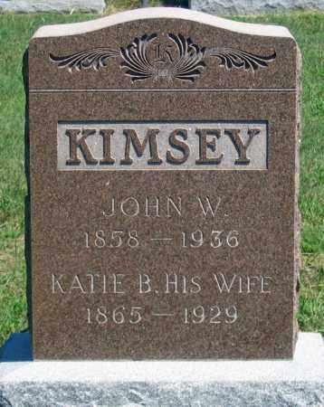 KIMSEY, KATIE B. - Dundy County, Nebraska | KATIE B. KIMSEY - Nebraska Gravestone Photos