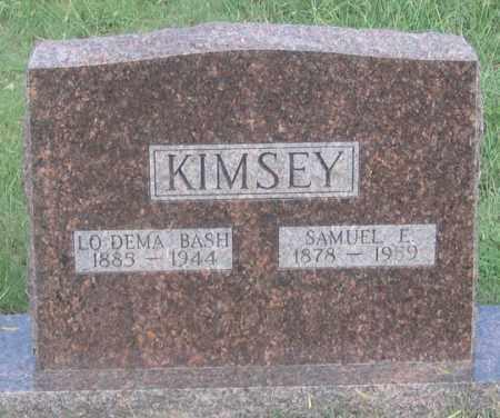 KIMSEY, SAMUEL E. - Dundy County, Nebraska   SAMUEL E. KIMSEY - Nebraska Gravestone Photos