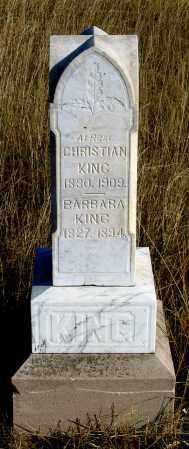 KING, BARBARA - Dundy County, Nebraska   BARBARA KING - Nebraska Gravestone Photos