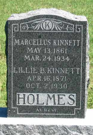 LOUX KINNETT, LILLIE B. - Dundy County, Nebraska | LILLIE B. LOUX KINNETT - Nebraska Gravestone Photos