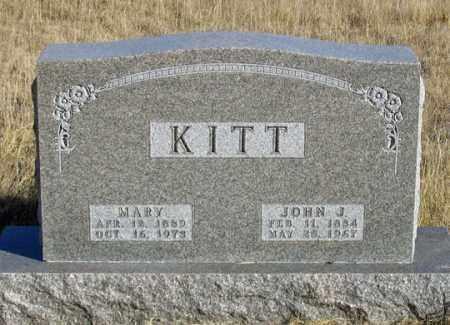 DONZE KITT, MARY - Dundy County, Nebraska | MARY DONZE KITT - Nebraska Gravestone Photos
