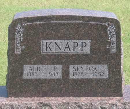 BROWER KNAPP, ALICE R. - Dundy County, Nebraska | ALICE R. BROWER KNAPP - Nebraska Gravestone Photos