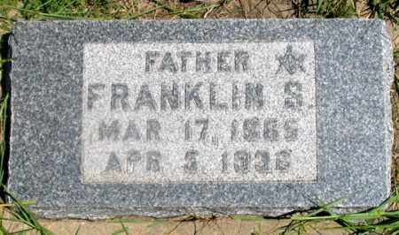 KNEPPER, FRANKLIN S. - Dundy County, Nebraska | FRANKLIN S. KNEPPER - Nebraska Gravestone Photos