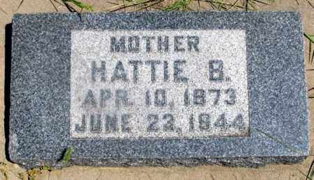 EWING KNEPPER, HATTIE B. - Dundy County, Nebraska | HATTIE B. EWING KNEPPER - Nebraska Gravestone Photos