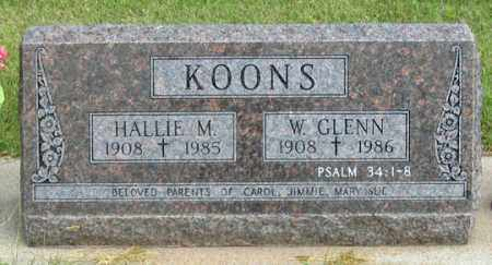 HARRIS KOONS, HALLIE M. - Dundy County, Nebraska | HALLIE M. HARRIS KOONS - Nebraska Gravestone Photos