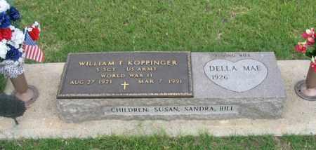 KOPPINGER, DELLA MAE - Dundy County, Nebraska | DELLA MAE KOPPINGER - Nebraska Gravestone Photos