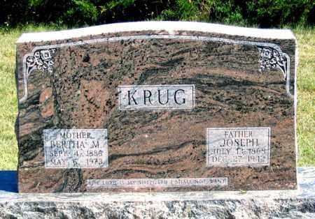 FUELLGRAF KRUG, BERTHA - Dundy County, Nebraska | BERTHA FUELLGRAF KRUG - Nebraska Gravestone Photos