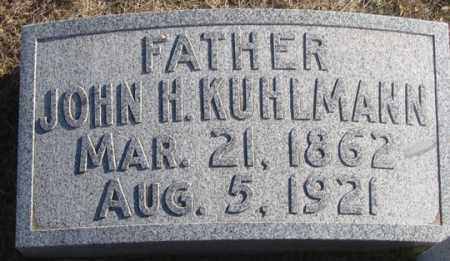KUHLMANN, JOHN H. - Dundy County, Nebraska   JOHN H. KUHLMANN - Nebraska Gravestone Photos