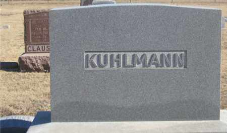 KUHLMANN, JOHN FAMILY HEADSTONE - Dundy County, Nebraska | JOHN FAMILY HEADSTONE KUHLMANN - Nebraska Gravestone Photos