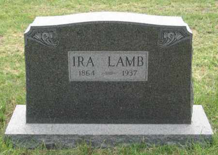 LAMB, IRA - Dundy County, Nebraska | IRA LAMB - Nebraska Gravestone Photos