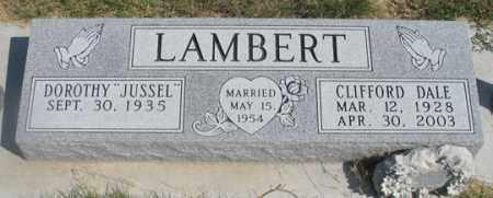 JUSSELL LAMBERT, DOROTHY - Dundy County, Nebraska | DOROTHY JUSSELL LAMBERT - Nebraska Gravestone Photos