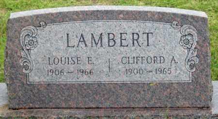 GUNDERMAN LAMBERT, LOUISE E. - Dundy County, Nebraska   LOUISE E. GUNDERMAN LAMBERT - Nebraska Gravestone Photos