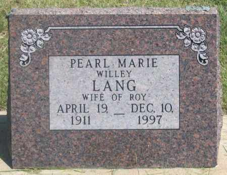 LUNBERRY WILLEY, PEARL MARIE - Dundy County, Nebraska | PEARL MARIE LUNBERRY WILLEY - Nebraska Gravestone Photos