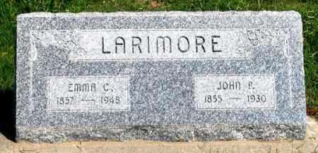 LARIMORE, EMMA C. - Dundy County, Nebraska   EMMA C. LARIMORE - Nebraska Gravestone Photos