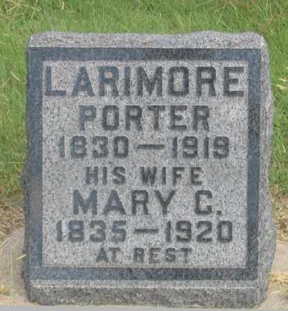 LARIMORE, MARY C. - Dundy County, Nebraska | MARY C. LARIMORE - Nebraska Gravestone Photos