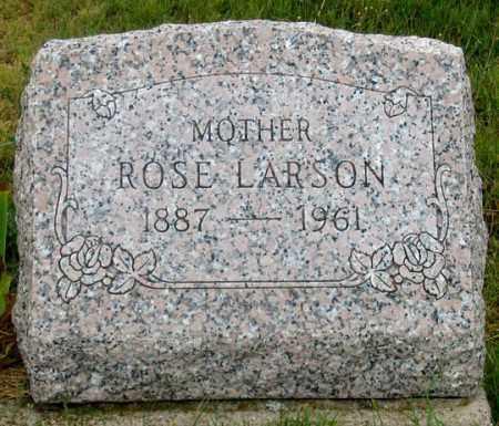 LARSON, ROSE - Dundy County, Nebraska | ROSE LARSON - Nebraska Gravestone Photos