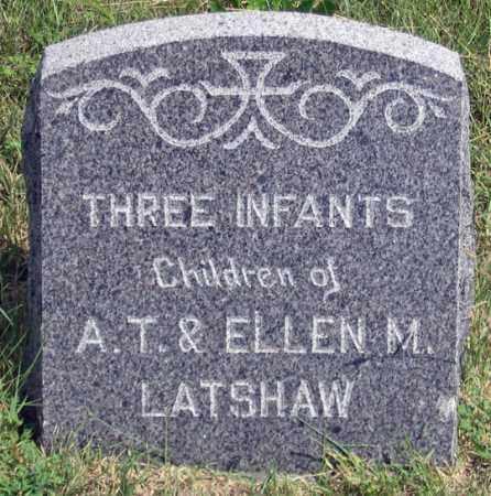 LATSHAW, INFANTS (3) - Dundy County, Nebraska   INFANTS (3) LATSHAW - Nebraska Gravestone Photos