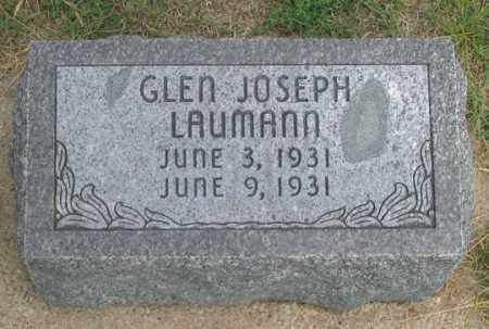 LAUMANN, GLEN JOSEPH - Dundy County, Nebraska | GLEN JOSEPH LAUMANN - Nebraska Gravestone Photos