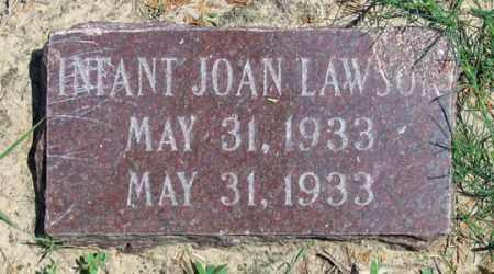LAWSON, JOAN - Dundy County, Nebraska | JOAN LAWSON - Nebraska Gravestone Photos