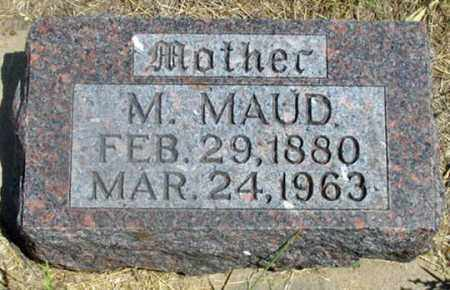 LAYTON, MARY MAUDE - Dundy County, Nebraska   MARY MAUDE LAYTON - Nebraska Gravestone Photos