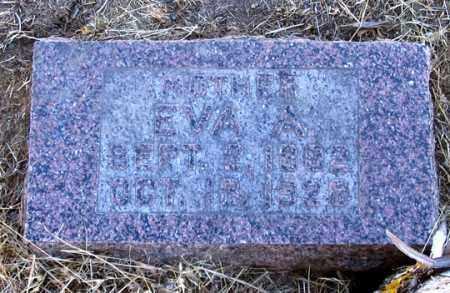 LINES, EVA A. - Dundy County, Nebraska | EVA A. LINES - Nebraska Gravestone Photos
