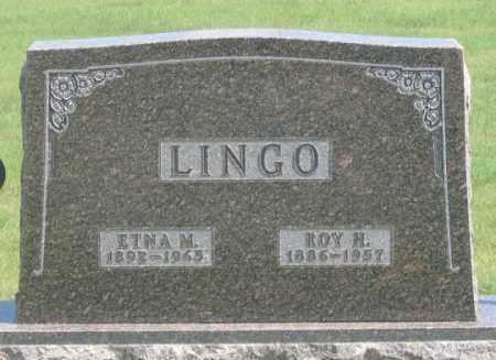 LINGO, ROY H. - Dundy County, Nebraska | ROY H. LINGO - Nebraska Gravestone Photos