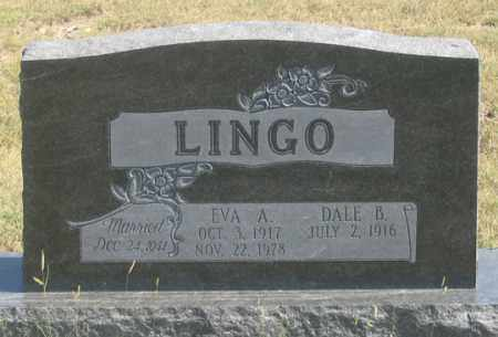 GRAMS LINGO, EVA A. - Dundy County, Nebraska   EVA A. GRAMS LINGO - Nebraska Gravestone Photos