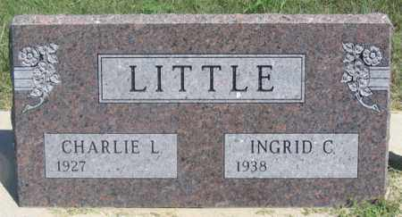LITTLE, CHARLIE L. - Dundy County, Nebraska | CHARLIE L. LITTLE - Nebraska Gravestone Photos