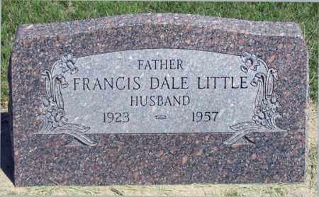 LITTLE, FRANCIS DALE - Dundy County, Nebraska | FRANCIS DALE LITTLE - Nebraska Gravestone Photos