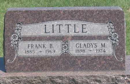 WILLIAMSON LITTLE, GLADYS M. - Dundy County, Nebraska | GLADYS M. WILLIAMSON LITTLE - Nebraska Gravestone Photos