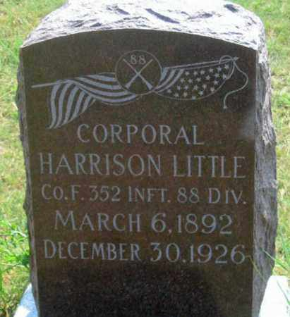LITTLE, HARRISON - Dundy County, Nebraska | HARRISON LITTLE - Nebraska Gravestone Photos