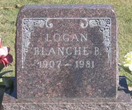 LOGAN, BLANCHE B. - Dundy County, Nebraska   BLANCHE B. LOGAN - Nebraska Gravestone Photos