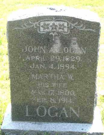 LOGAN, MARTHA W. - Dundy County, Nebraska | MARTHA W. LOGAN - Nebraska Gravestone Photos