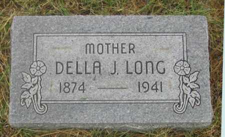 LONG, DELLA JANE - Dundy County, Nebraska | DELLA JANE LONG - Nebraska Gravestone Photos