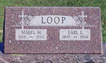 LOOP, EARL L. - Dundy County, Nebraska | EARL L. LOOP - Nebraska Gravestone Photos
