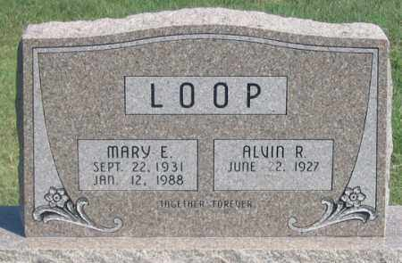 LOOP, ALVIN R. - Dundy County, Nebraska | ALVIN R. LOOP - Nebraska Gravestone Photos