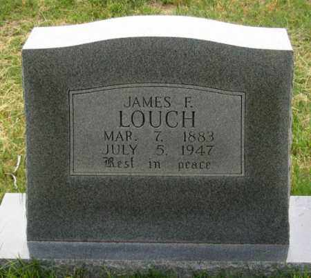 LOUCH, JAMES F. - Dundy County, Nebraska | JAMES F. LOUCH - Nebraska Gravestone Photos
