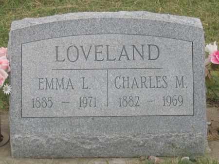 LOVELAND, EMMA L. - Dundy County, Nebraska   EMMA L. LOVELAND - Nebraska Gravestone Photos