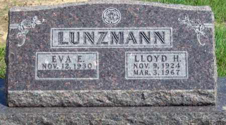 HOWARD LUNZMANN, EVA E. - Dundy County, Nebraska | EVA E. HOWARD LUNZMANN - Nebraska Gravestone Photos