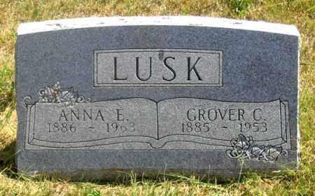 LUSK, ANNA E. - Dundy County, Nebraska | ANNA E. LUSK - Nebraska Gravestone Photos