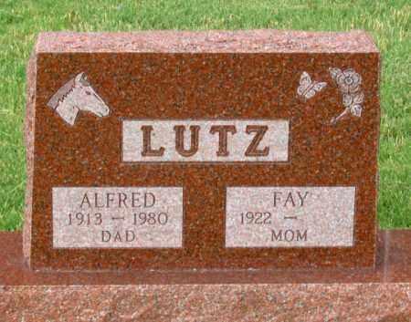 LUTZ, ALFRED - Dundy County, Nebraska | ALFRED LUTZ - Nebraska Gravestone Photos