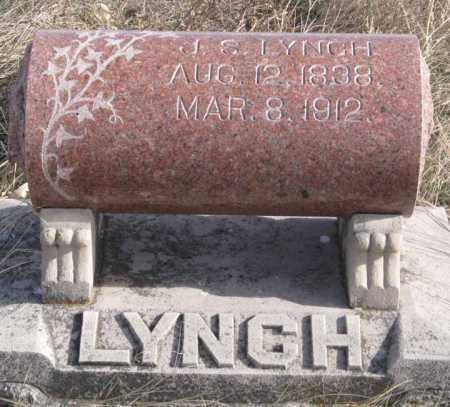 LYNCH, J. S. - Dundy County, Nebraska | J. S. LYNCH - Nebraska Gravestone Photos