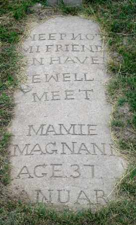 """MAGNANI, MAMIE """"MARY"""" (GRAVE COVER) - Dundy County, Nebraska 