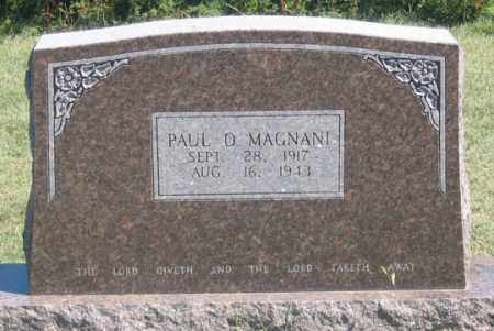 MAGNANI, PAUL ORA - Dundy County, Nebraska   PAUL ORA MAGNANI - Nebraska Gravestone Photos